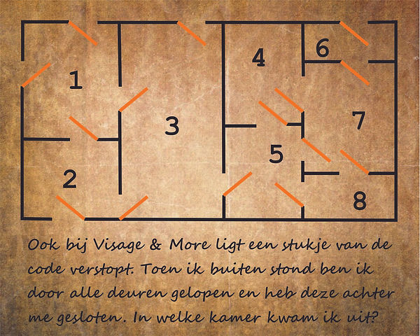 Visage & More  krant - OVSB Escape Game.