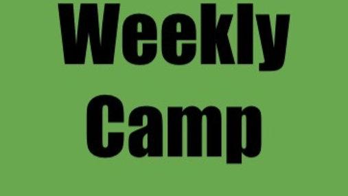 Weekly Camp