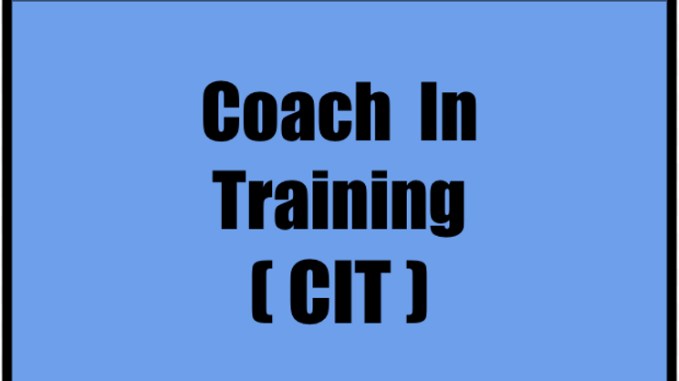 Coach In Training  (CIT) Ages 14 & 15