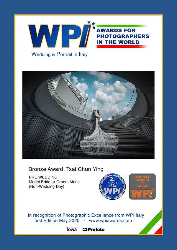 B-Tsai-Chun-Ying PRE-WEDDING Bridal Coup