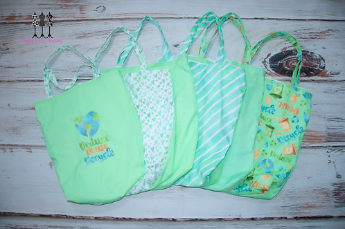 Reusable, washable shopping bags
