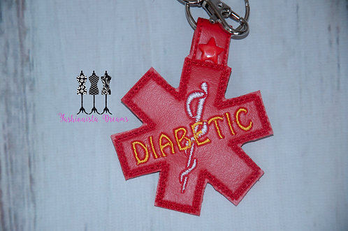 Medical Alert Keychain/Zipper pull