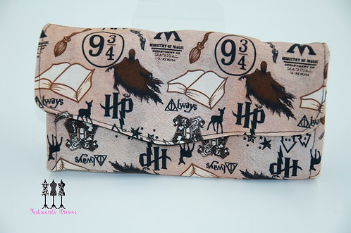 Emmaline - Harry Potter themed Necessary Clutch Wallet