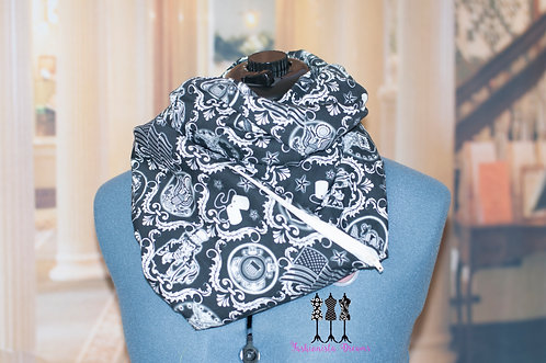 Military Support Pocket Infinity Scarf