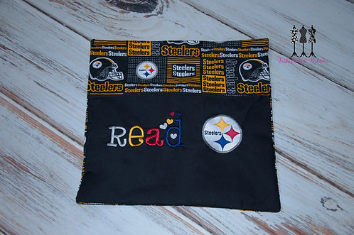 Steelers Reading Pillow