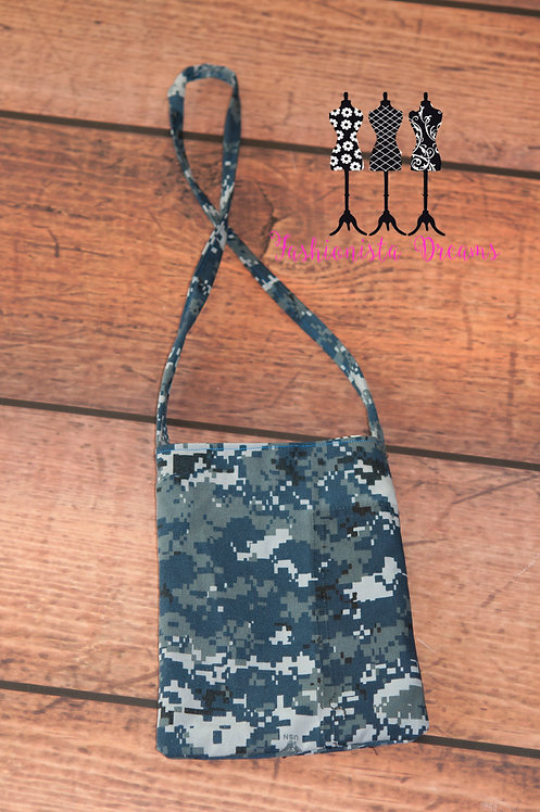 **MADE FROM YOUR UNIFORM THIS IS A SAMPLE ONLY** Uniform Pocket Purse