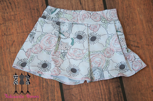 Monkey Bar Skirt - Unicorn Flowers
