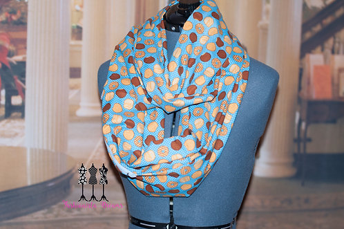 Girl Scout Cookie Pocket Infinity Scarf
