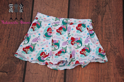 Monkey Bar Skirt - Little Mermaid