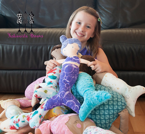 Heirloom Dolls - Mermaids and star fish
