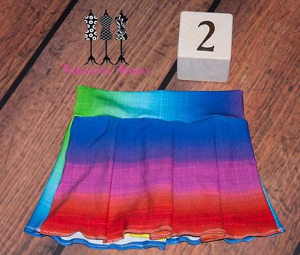 Monkey Bar Skirt - Rainbow Ombre