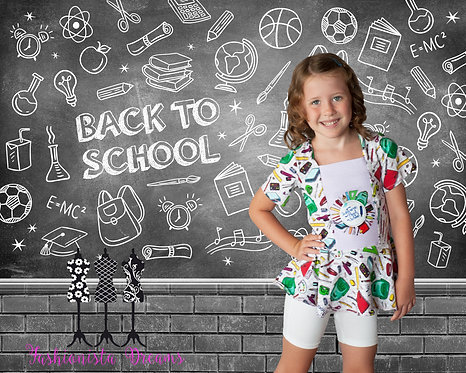 Welcome Back to School Tunic