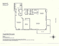 Meridian Floorplan E Line