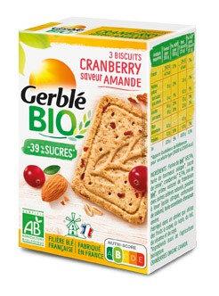 Biscuit Gerblé Bio Cranberry
