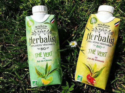 Herbalist Bio Thé Vert Jus de Citron