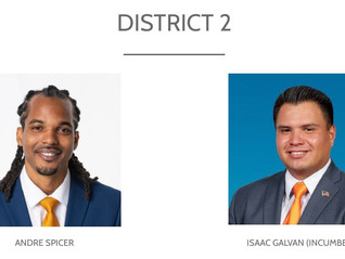 COMPTON 2021 ELECTIONS - DISTRICT 2 RUNOFF CANDIDATES