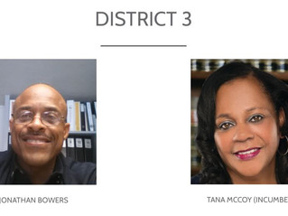 COMPTON 2021 ELECTIONS - DISTRICT 3 RUNOFF CANDIDATES