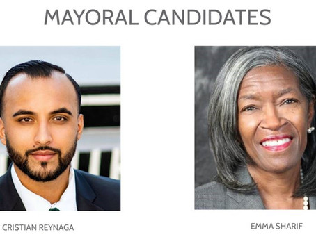 COMPTON 2021 ELECTIONS - MAYORAL RUNOFF CANDIDATES