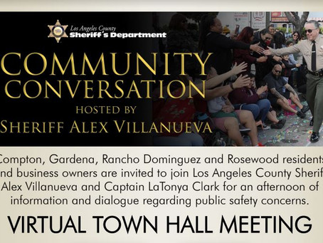 Community Conversation Hosted by Sheriff Alex Villanueva