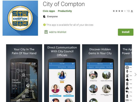 Download Compton's City App and Become a Civic Citizen Today!