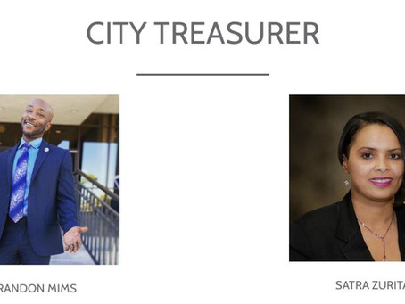 COMPTON 2021 ELECTIONS - CITY TREASURER RUNOFF CANDIDATES