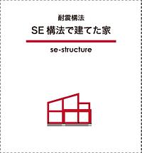 耐震構法SE構法の施工例へ