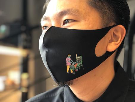 マスクのオリジナルプリント