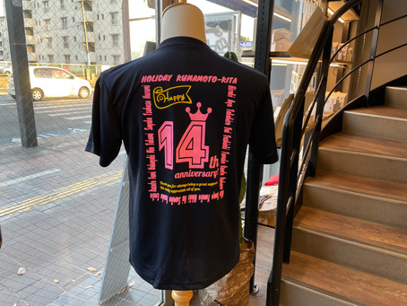 ホリデースポーツさま 記念Tシャツ♪