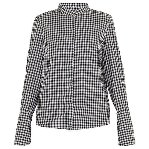 "Рубашка ""Square"" в клетку с манжетами"
