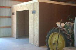 Storage Room in barn