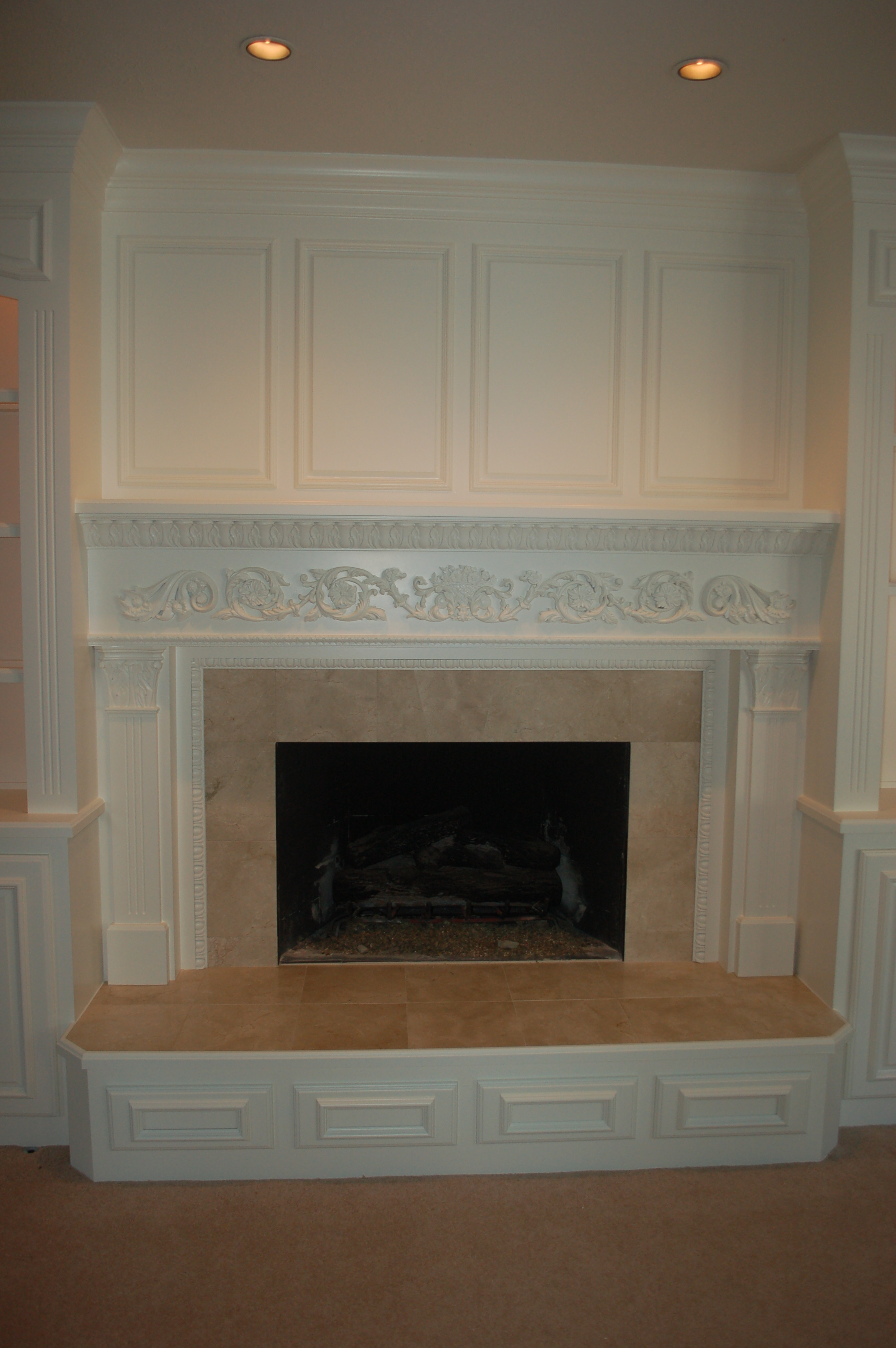 Build in Fireplace