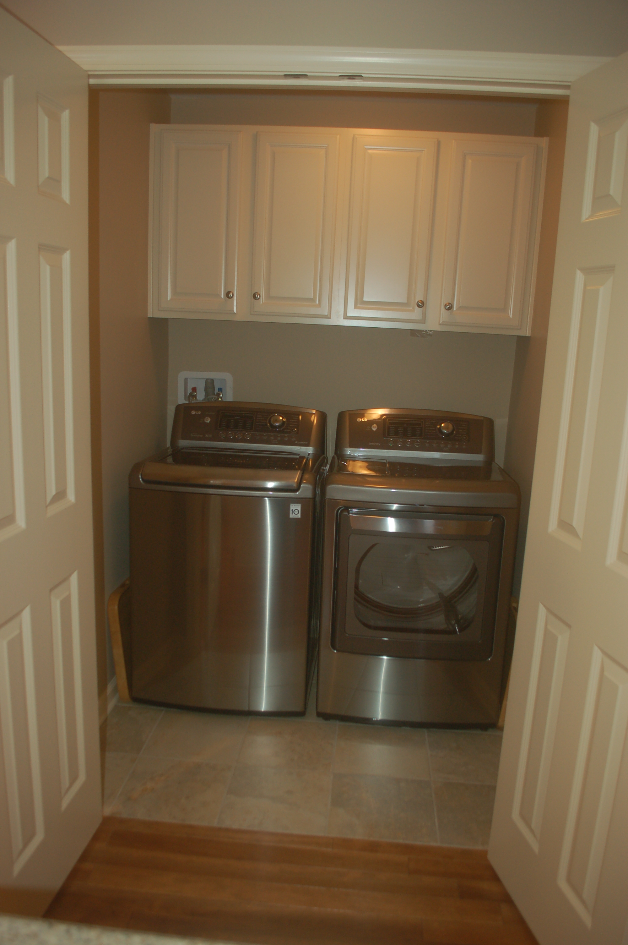 Laundry Room Cabinets and Doors