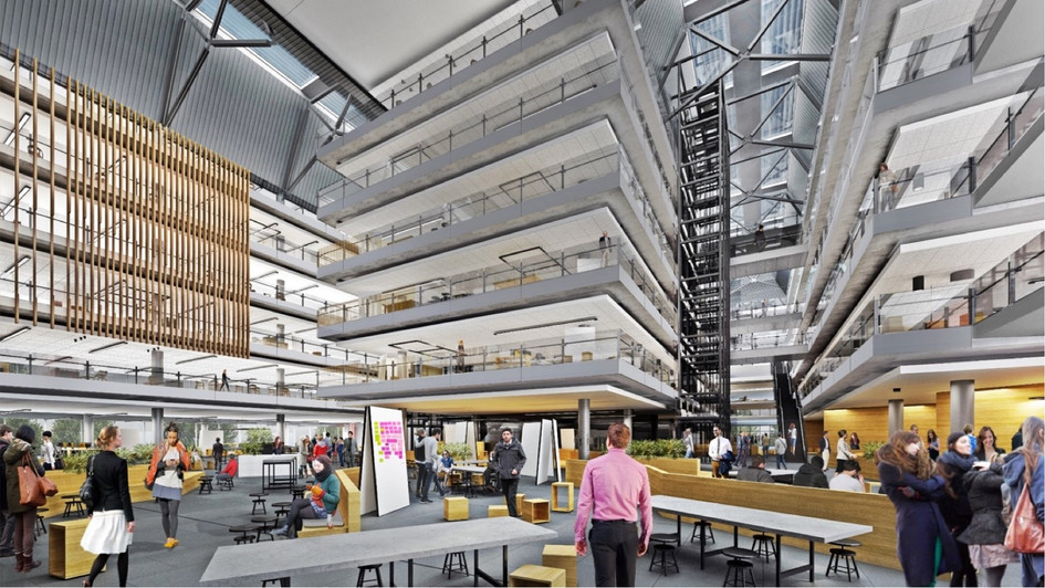 Imagining the future of workplace for 10K employees on one site