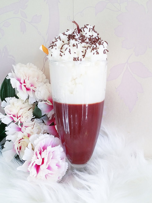 Chocolate Milkshake Candle