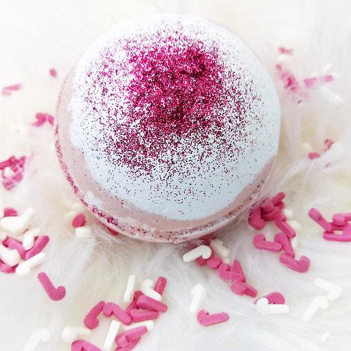 Candy Cane Bath Bomb