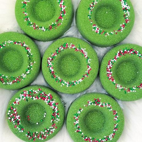 Christmas Wreath Bath Truffle