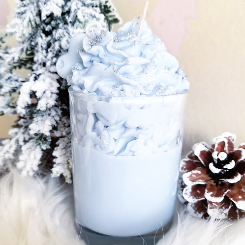 Jack Frost Whipped Candle