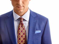 Blue custom sport coat