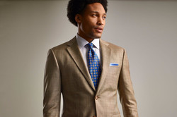Tan Custom Suit