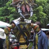 The practical alien bug creature