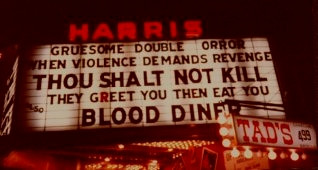 Thou Shalt Not Kill...Except when it played at one of the great, long-gone, grindhouse movie theaters on 42nd and Broadway in New York.