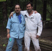 Bruce Campbell (right) and his only true friend, Josh (left)
