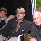 David Worth, DP, me, and Bob Perkis, producer