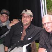 David Worth, DP, me, and Bob Perkis, producer
