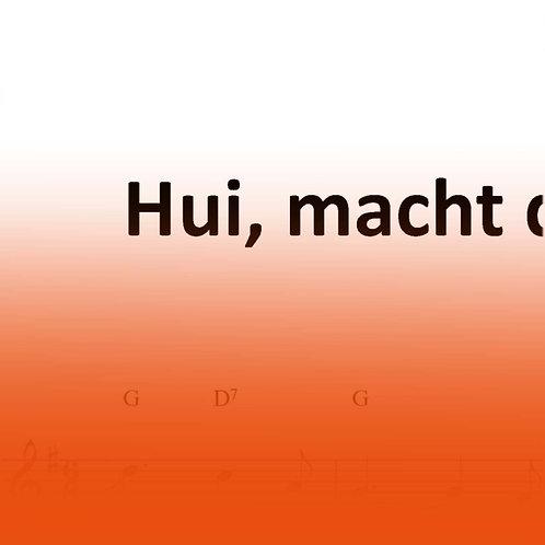 """Lied """"Hui, macht der Wind"""""""