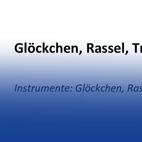 """Instrumentenspiel """"Glöckchen, Rassel, Trommel"""""""