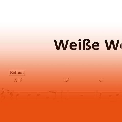 """Lied """"Weiße Welt"""""""