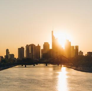 Sunset Among Giants