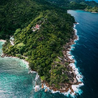 Seychelles From Abvoe