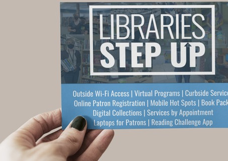 Join Us and Step Up for Our Library